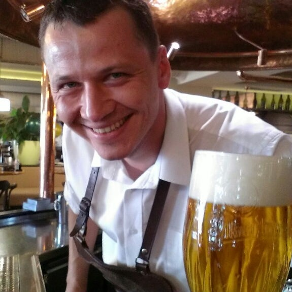 Photo taken at Kulaťák Pilsner Urquell by Marek V. on 7/27/2013