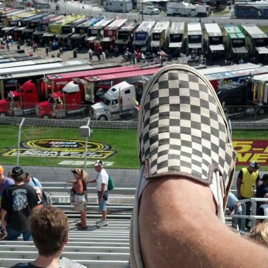 Photo taken at Dover International Speedway by Naked B. on 9/29/2013