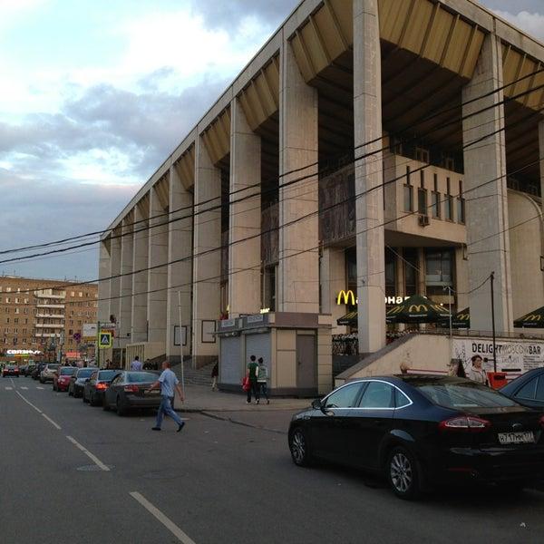 Photo taken at Московский дворец молодежи by Victor S. on 7/23/2013