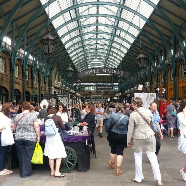 Photo taken at Covent Garden Market by Amanda Y. on 7/29/2013