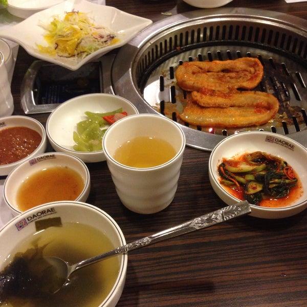 Photo taken at Daorae Korean BBQ Restaurant by Agnes Y. on 5/3/2015