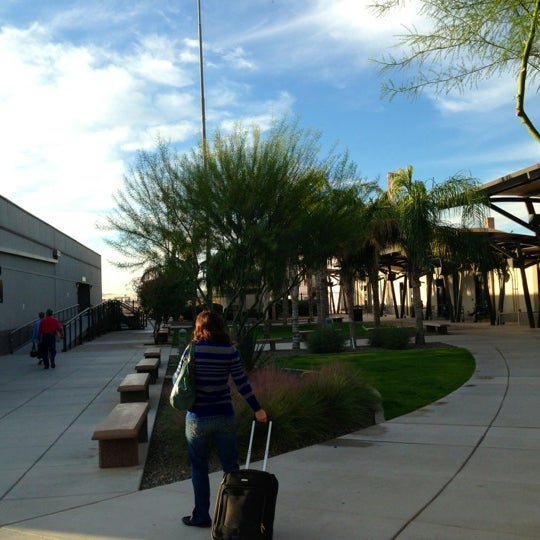 Photo taken at Phoenix-Mesa Gateway Airport (AZA) by Mark P on 11/8/2012