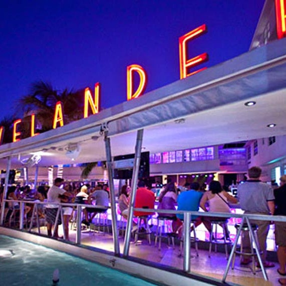 Photo taken at Clevelander by sam p. on 5/9/2013