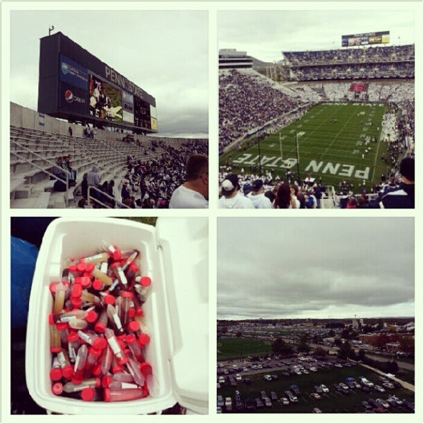 Photo taken at Beaver Stadium by Mei-Ly on 10/6/2012