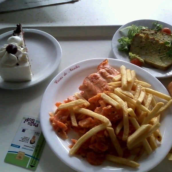 Restaurant universitaire le ricordeau centre ville for Stage cuisine nantes