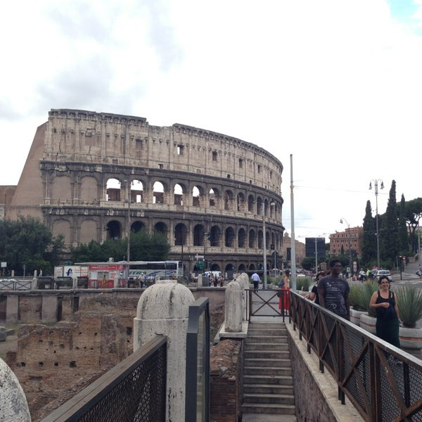 Photo taken at Piazza del Colosseo by Michele A. on 9/11/2013