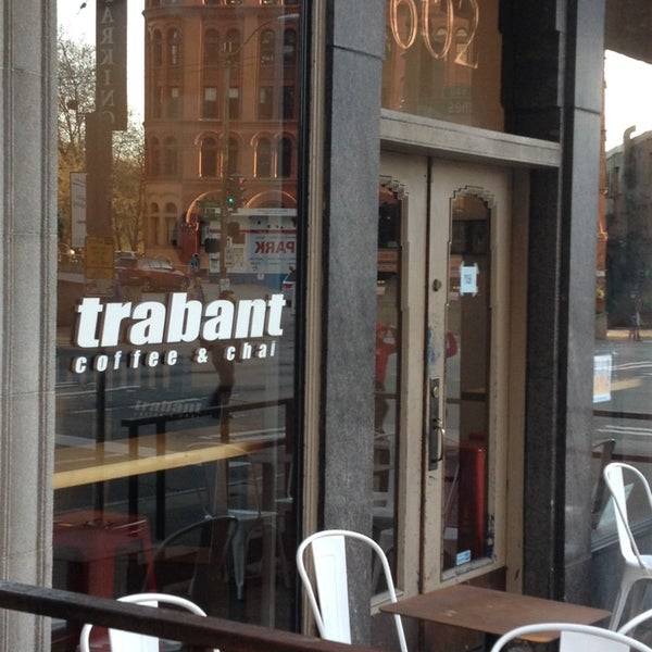 Photo taken at Trabant Coffee and Chai by Gregory D. on 4/10/2014