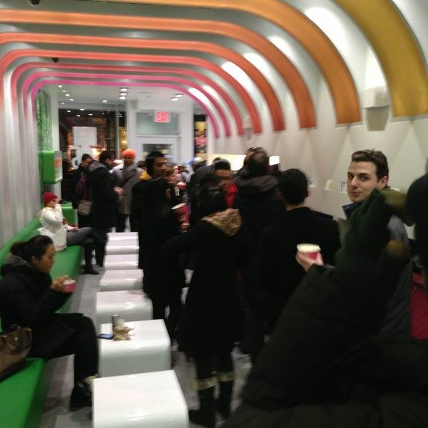 Photo taken at 16 Handles by sandeep on 1/23/2013