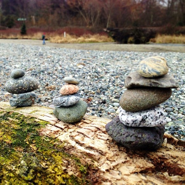 Photo taken at Carkeek Park by Felice L. on 2/11/2013