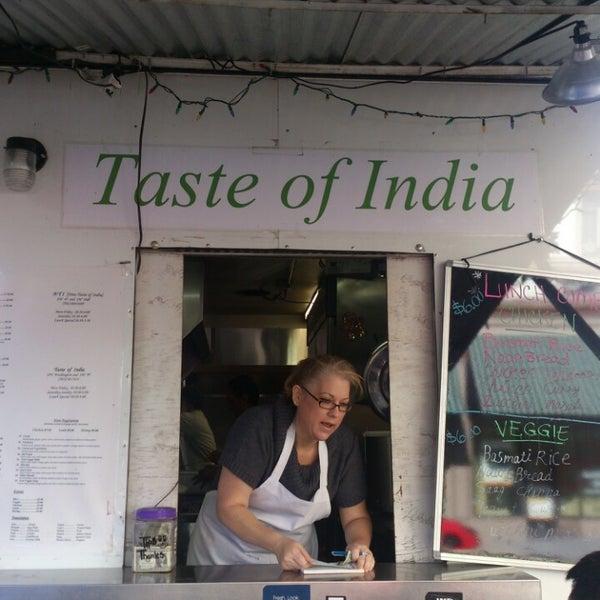 New Taste Of India Food Cart In Portland