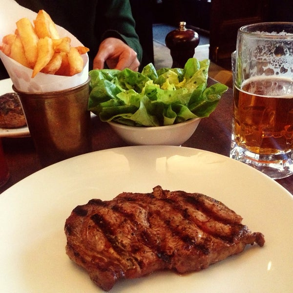 Photo taken at Hawksmoor by KAE . on 3/29/2014