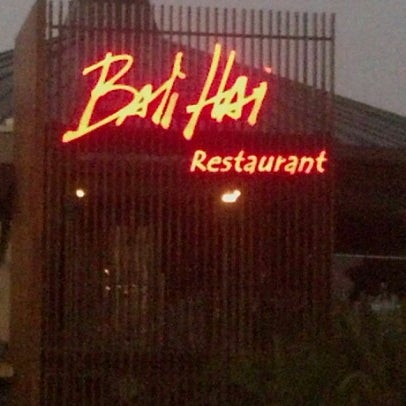 Photo taken at Bali Hai Restaurant by Mark G. on 10/31/2012