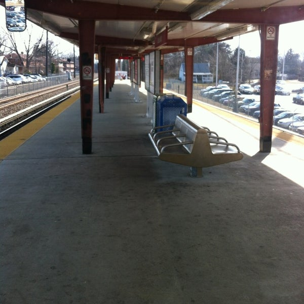 Photo taken at PATCO: Ashland Station by Ugo on 2/20/2013