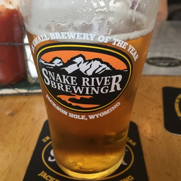 Photo taken at Snake River Brewery & Restaurant by Adam W. on 8/2/2016