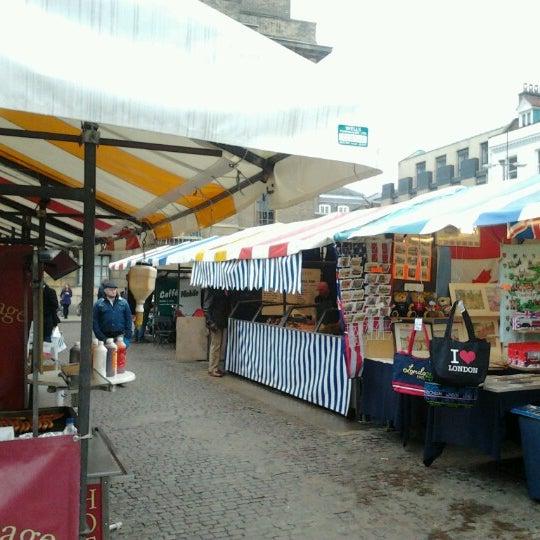 Photo taken at Cambridge Market by Eduardo M. on 1/12/2013