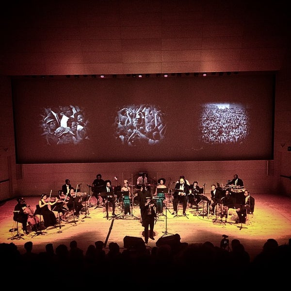 Photo taken at The New School Auditorium at 66W 12th by Michael C. on 10/4/2014