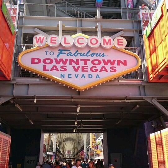 Photo taken at Downtown Las Vegas by João Paulo O. on 9/18/2016