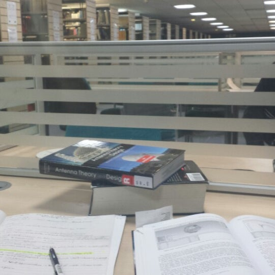 Photo taken at Northumbria University Library by Mansour A. on 10/28/2013