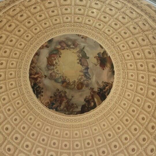 Photo taken at Rotunda of the U.S. Capitol by Karen H. on 11/7/2016
