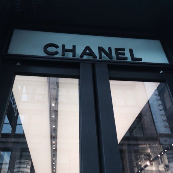 Photo taken at CHANEL Boutique by Vero R. #. on 1/20/2014
