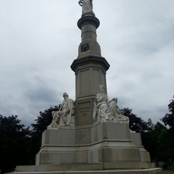 Photo taken at Gettysburg National Cemetery by NaRae L. on 9/21/2013