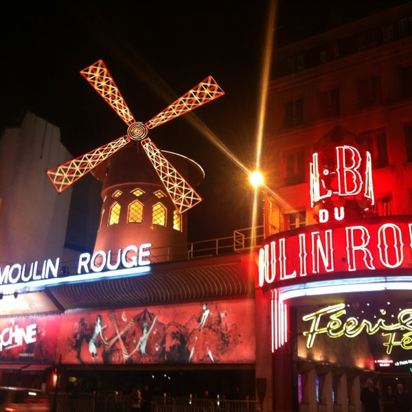 Photo taken at Moulin Rouge by Jing L. on 3/9/2013