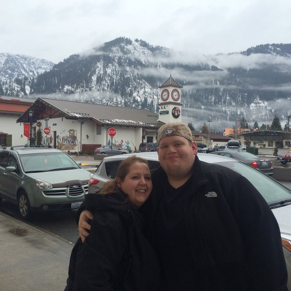 Photo taken at Town of Leavenworth by David G. on 2/6/2015