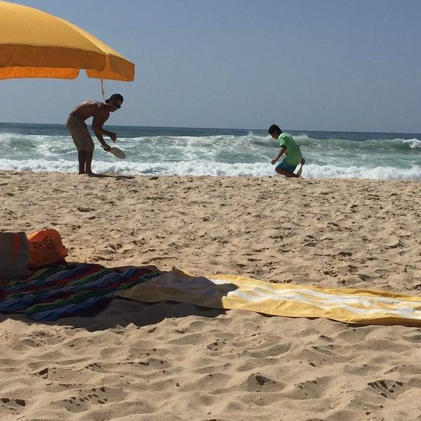 Photo taken at Praia do Barril by Lolo lorena on 7/16/2016