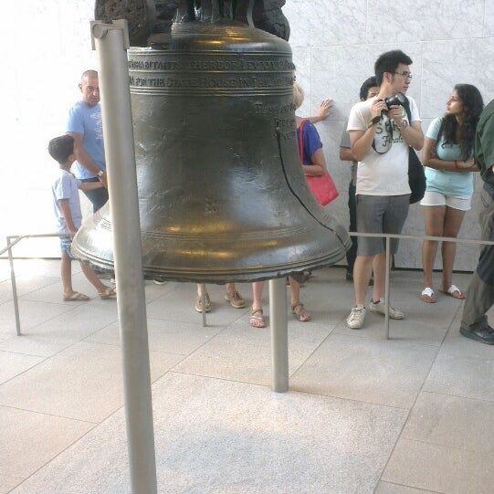 Photo taken at Liberty Bell Center by Thomas V. on 7/12/2014