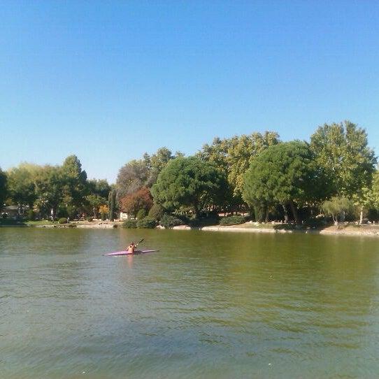Photo taken at Lago de la Casa de Campo by Raquel C. on 10/11/2011