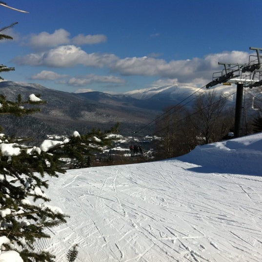 Photo taken at Bretton Woods by Ralph H. on 2/11/2011