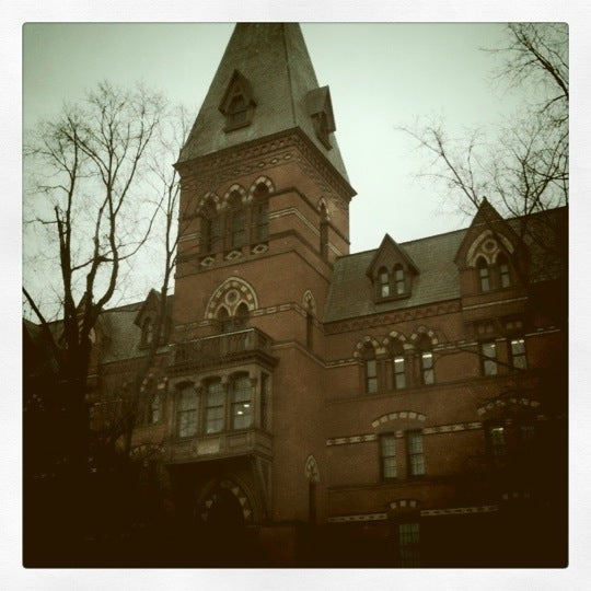 Photo taken at Sage Hall by Daniel S. on 1/31/2011