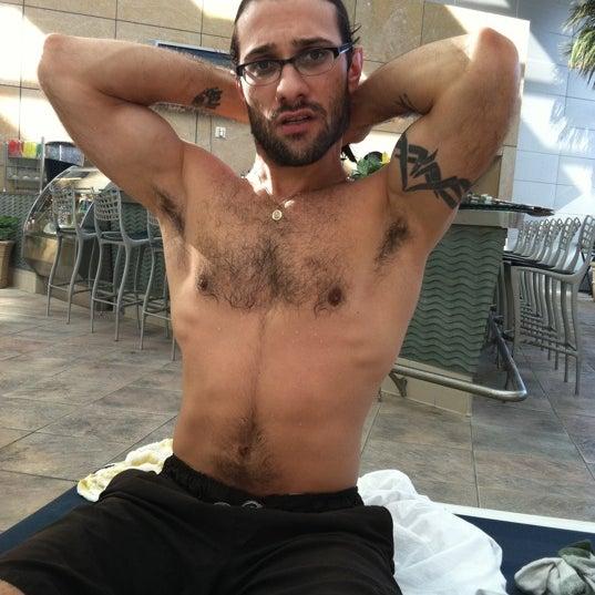 Photo taken at Mohegan Sun Pool by Ariel Q. on 11/26/2011