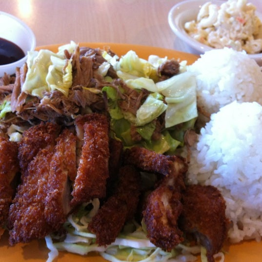 Photo taken at Aloha Kitchen by Janine S. on 3/21/2012