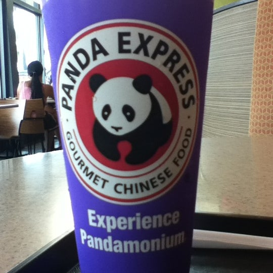 Photo taken at Panda Express by Coralie on 9/4/2012
