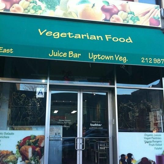 Uptown vegetarian food juice bar east harlem new for V kitchen restaurant vegetarian food