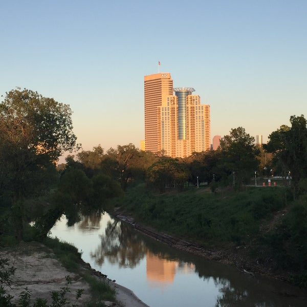 Photo taken at Memorial/Allen Parkway Trails by David P. on 9/23/2015