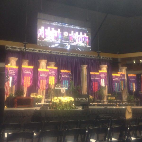 Photo taken at Allen Arena by Abigail Y. on 12/13/2014