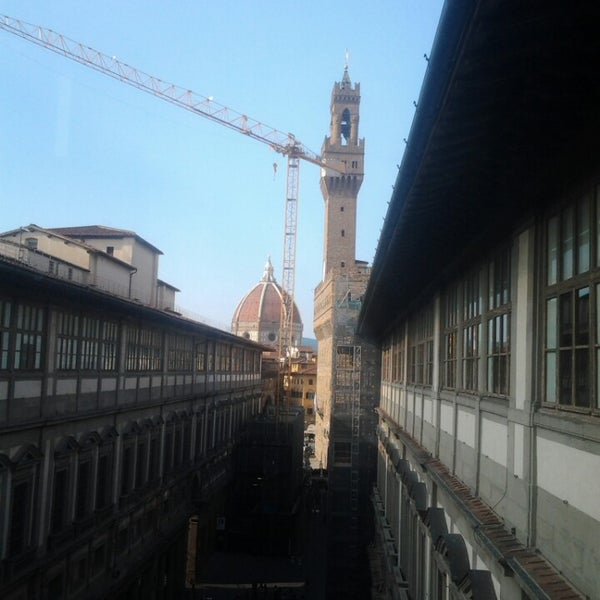 Photo taken at Uffizi Gallery by Raquel D. on 7/18/2013