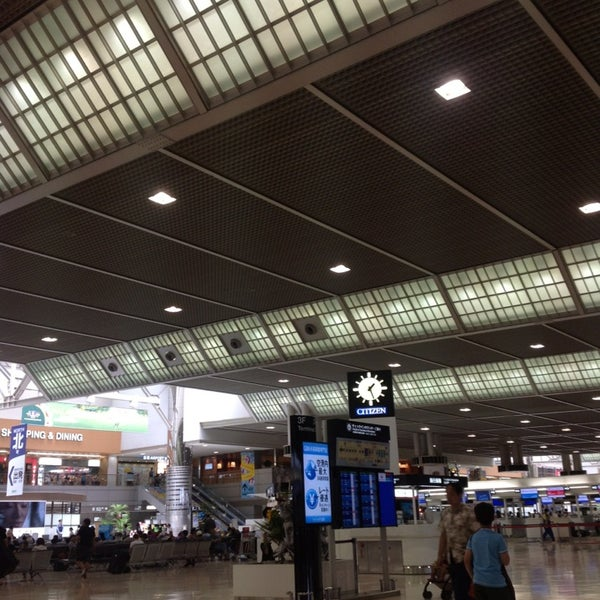 Photo taken at Narita International Airport (NRT) by Kullakaln G. on 7/15/2013
