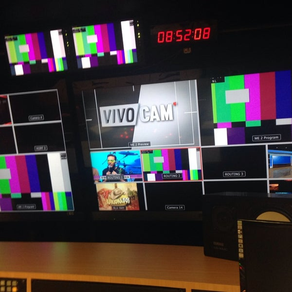 Photo taken at Multimedios Televisión by Priscila L. on 5/16/2014