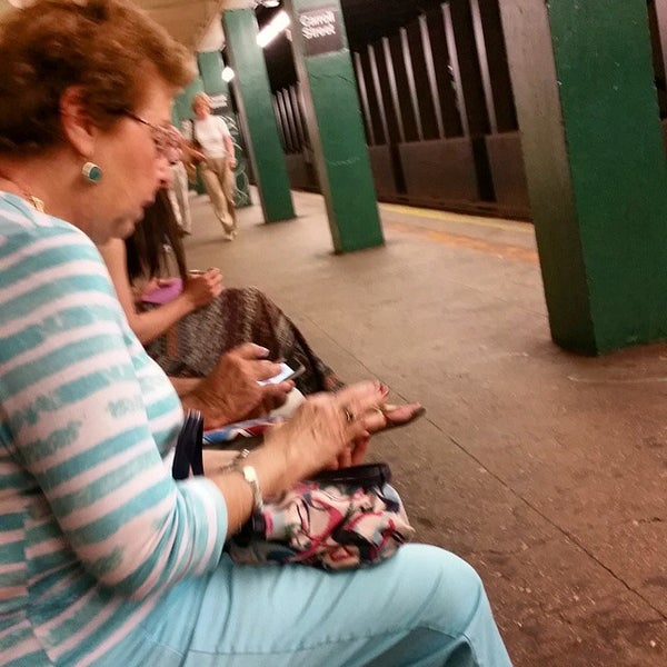 Photo taken at MTA Subway - Carroll St (F/G) by chris a. on 6/8/2015