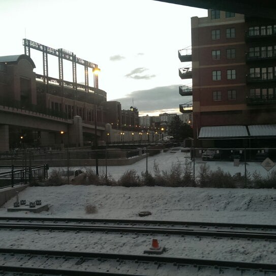 Photo taken at Denver Amtrak (DEN) by Wolfgang F. on 12/29/2013