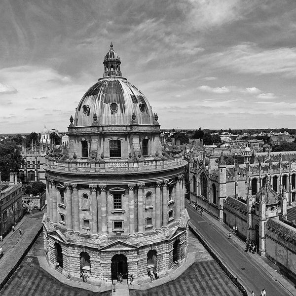Photo taken at Radcliffe Camera by Vincent L. on 6/18/2015