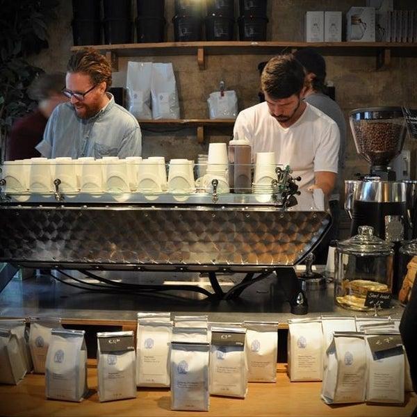 Photo taken at Bonanza Coffee by Alexey K. on 10/27/2013