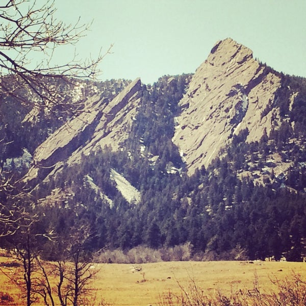 Photo taken at Chautauqua Park by Kathy F. on 3/23/2014