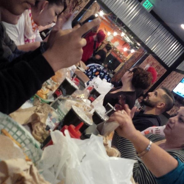 Photo taken at The Boiling Crab by Jessalyn R. on 3/1/2014