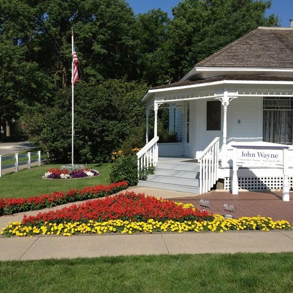 Photo taken at John Wayne Birthplace Museum by Chris R. on 7/17/2013
