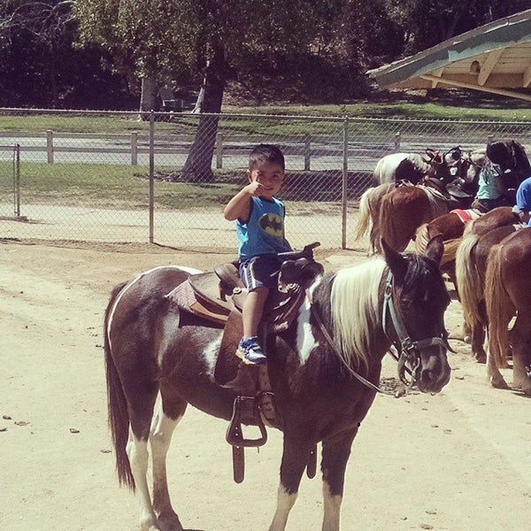 Photo taken at Griffith Park Pony Rides by Lawrence M. on 9/12/2014