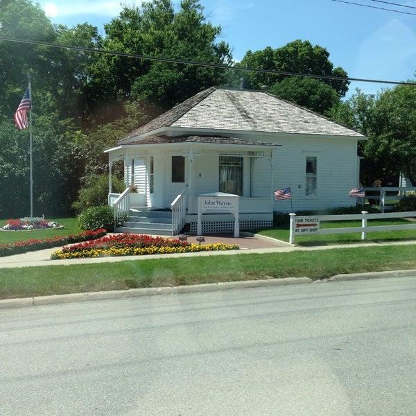 Photo taken at John Wayne Birthplace Museum by Kristy M. on 7/10/2013